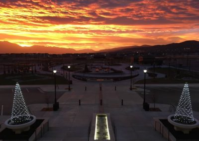 HTC Crane Park Sunset